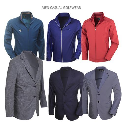 [쟌피엘 外] 착한 가격으로 기분좋게 득템하는 S/S시즌 남성 골프 마이&자켓 6종 택일