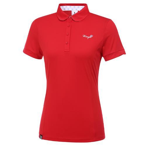 [와이드앵글] 여성 로타 콜라보 카라 반팔 티셔츠 L WWM20231R2