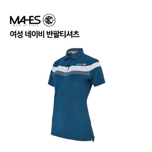 [마헤스] 여성 네이비 반팔티셔츠 GS60344 골프패션