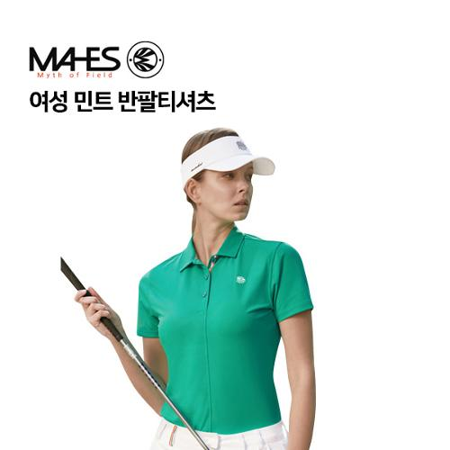 [마헤스] 여성 민트 반팔티셔츠 GS60296 골프패션