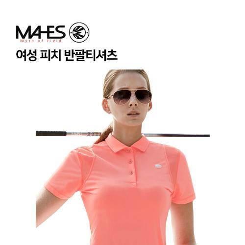 [마헤스] 여성 피치 반팔티셔츠 GS60274 골프패션