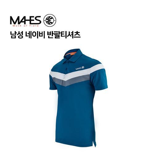 [마헤스] 남성 네이비 반팔티셔츠 GS50344 골프패션