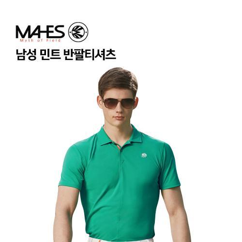[마헤스] 남성 민트 반팔티셔츠 GS50296 골프패션