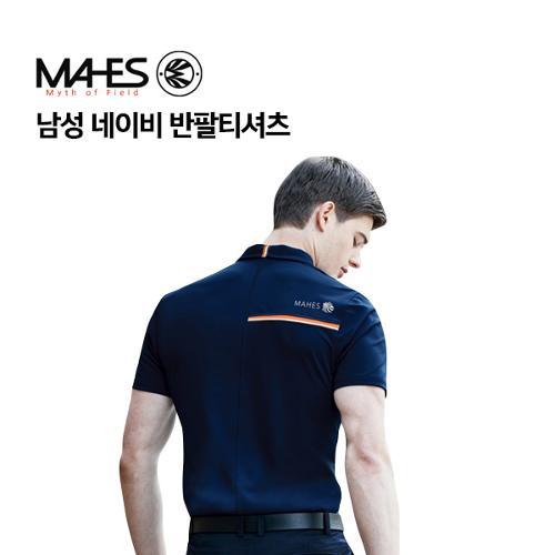 [마헤스] 남성 네이비 반팔티셔츠 GS50294 골프패션