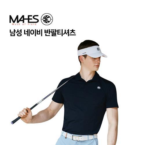 [마헤스] 남성 네이비 반팔티셔츠 GS50286 골프패션