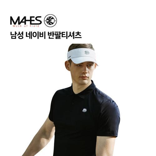 [마헤스] 남성 네이비 반팔티셔츠 GS50280 골프패션