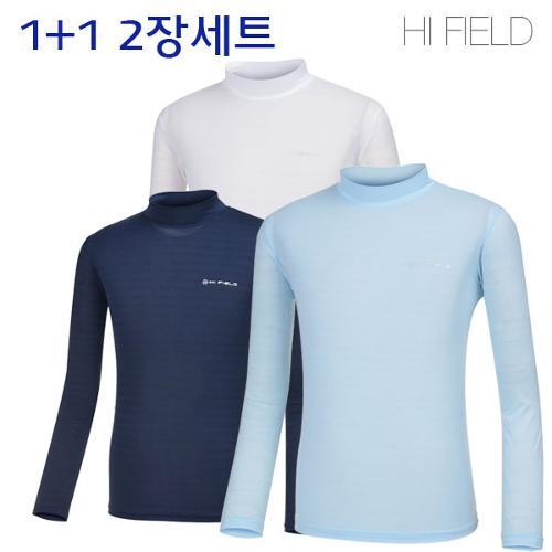 UV차단 남성 냉감 반목 골프 이너웨어 2장세트