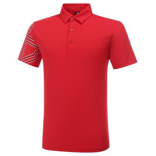 [와이드앵글] 남성 HSS 시그니쳐 포인트 반팔 티셔츠 M WMU20202R2