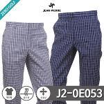 [JEAN PIERRE] 쟌피엘 사각체크 숨김밴딩 스판팬츠 Model No_J2-0E053