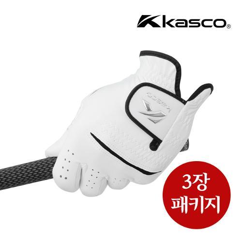 [카스코] KASCO 남성 프리미엄 합피장갑 3 장 패키지