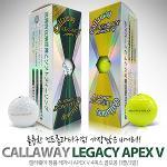 캘러웨이 정품 LEGACY APEX V 4피스 골프공[1줄/3알]