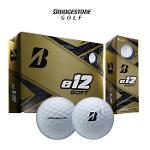(전색상재입고)브리지스톤 e12 소프트 비비드 컬러 3피스 골프공(타이거우즈 골프공)(1더즌 12알)