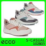 ECCO 2020 공식정품 S-CASUAL 여성골프화 102803