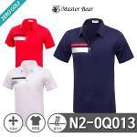 [MASTER BEAR] 마스터베어 포인트 이선 스판 반팔티셔츠 Model No_N2-0Q013