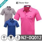 [MASTER BEAR] 마스터베어 잔스트라이프 무지 PK 반팔티셔츠 Model No_N2-0Q012