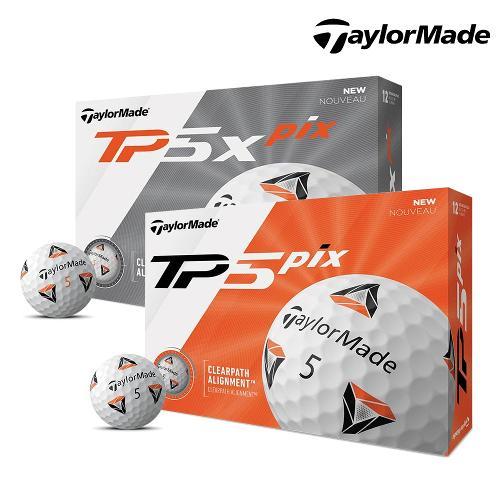 [리키파울러 PGA 투어볼][테일러메이드 정품] 2020 신제품 TP5 / TP5x pix 골프공_5피스