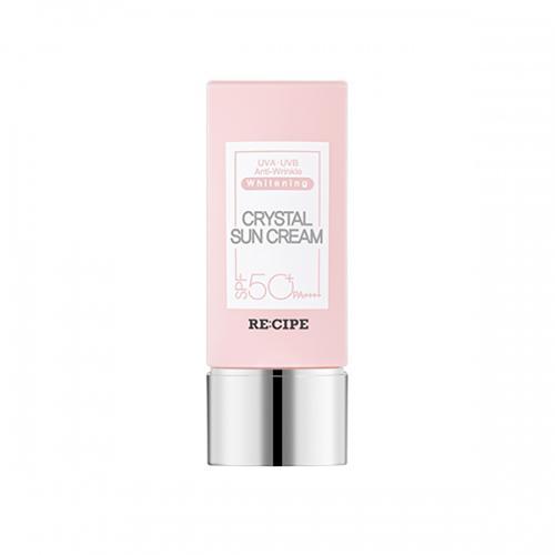 레시피 크리스탈 선크림 SPF50+, PA++++ (핑크 에디션)_VIG