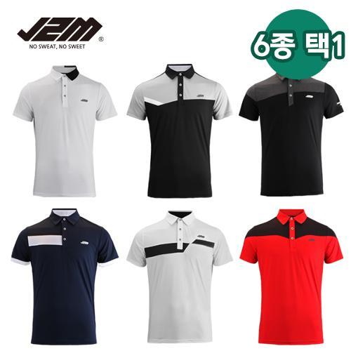 J2M 썸머젠틀맨프리미어 리그 골프 반팔 6종택1