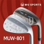 (엠유스포츠정품) MUW-801 웨지(크롬/블랙)(여성)