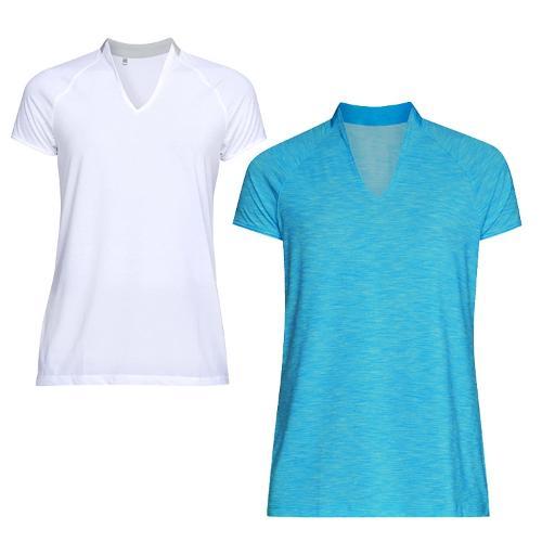 언더아머 여성 폴로 엣지 반팔 티셔츠 1317380 반팔티