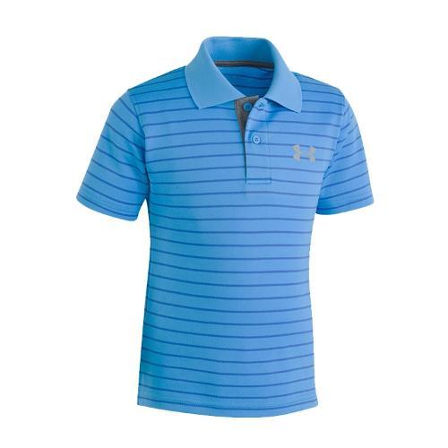 언더아머 보이즈 UA 플레이오프 스트라이프 반팔 티셔츠 1319819