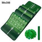 제이빅-피스탑 골프 퍼팅매트/골프연습용품/볼궤적표시50x350