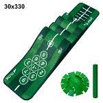제이빅-피스탑 골프 퍼팅매트/골프연습용품/볼궤적표시30x330