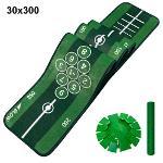제이빅-피스탑 골프 퍼팅매트/골프연습용품/볼궤적표시30x300