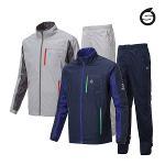 선덜랜드 남성 최고급 완벽방수 소매탈부착 레인자켓/비옷 상하의세트(후드삽입형) - 16511RW01
