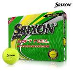 스릭슨 소프트 필 12 골프공 12알 옐로우볼 골프볼
