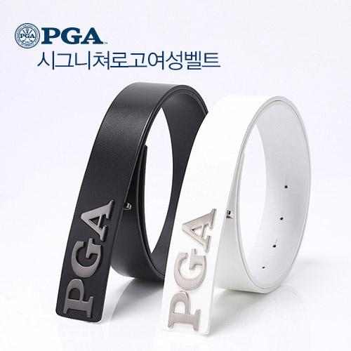 PGA 시그니쳐로고 여성 골프벨트 PG0LBT51
