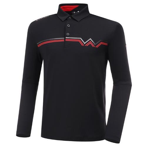[와이드앵글] 남성 WL W웰딩 포인트 긴팔 티셔츠 M WMU20212Z1