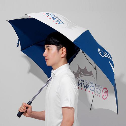 캘러웨이 CG UL 인터내셔널 크라운 56 자동 캐노피 우산
