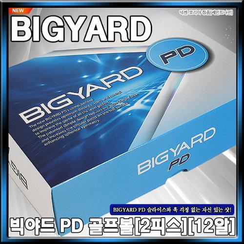 [넥센] 2020년 BIG YARD (빅야드) PD 골프볼[12알][정품][화이트)