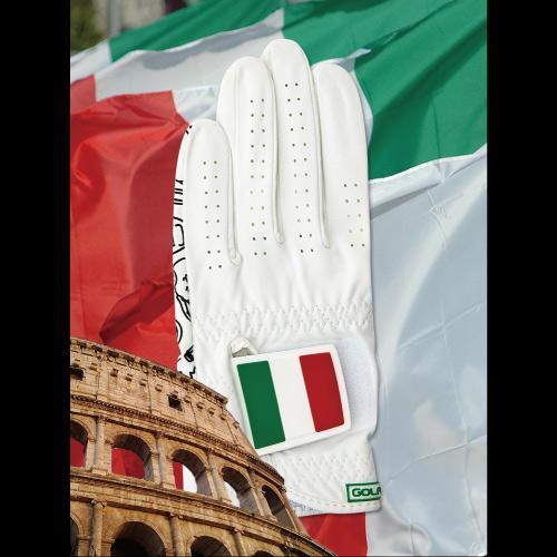 [골프스킨 골프장갑] 이탈리아 - 최상의그립감 미끄럼방지 세탁가능 특수원단 스마트폰터치 (왼손)