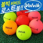 [로스트볼]컬러 볼빅 비비드 VIVID 특A 10알 무광 컬러볼