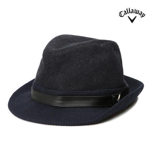 [캘러웨이] 남성 니트 배색 패턴 페도라 모자 CMACG3807-190_G