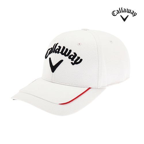 [캘러웨이]남성 배색 파이핑 캡 모자 CMACI3111-100_G