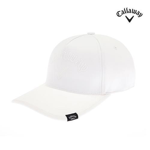 [캘러웨이]남성 엠보 로고 솔리드 캡 모자 CMACI3112-100_G