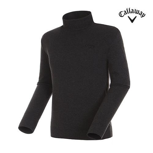 [캘러웨이]남성 믹스 자수 로고 폴라 스웨터 CMSHG3272-192_G