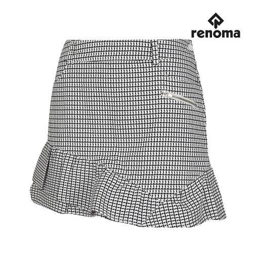 [레노마골프]여성 패턴 프릴 큐롯 RWPCG7513-100_G