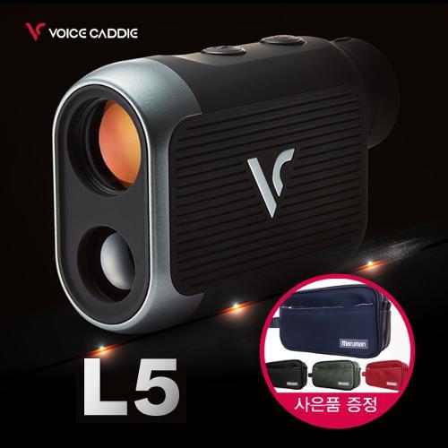 [2020년신제품]보이스캐디 L5 V-알고리즘 레이저 거리측정기 + 마루망 투지퍼 파우치