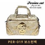 페르시안캣 PER-019 보스턴백 옷가방 골드 남녀공용
