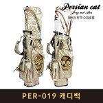페르시안캣 PER-019 스탠드백 캐디백 골드 남녀공용