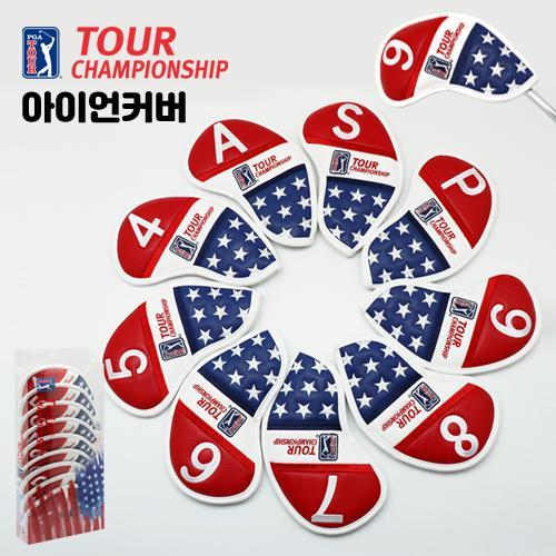 [케이스포장]PGA TOUR CHAMPIONSHIP 올자수 골프 아이언 헤드커버 세트-9개1세트