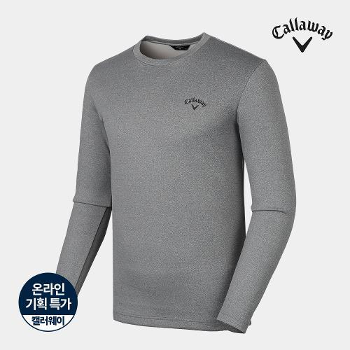 [캘러웨이]기획 남성 베이직 라운드 긴팔 티셔츠 CMTRJ3752-193_G