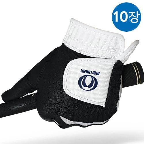 [블랙골프데이앵콜]마루망 정품 2021년 신제품 반양피 남성용 골프장갑[1장]