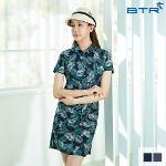 비티알 BTR 골프 여성 여름 반팔 패턴 셔츠 원피스 아만다(여) BRT4972W