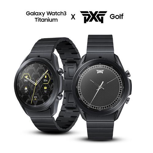 [PXG 에디션] 삼성 갤럭시 워치3 골프 45mm (티타늄 바디)(한정수량)