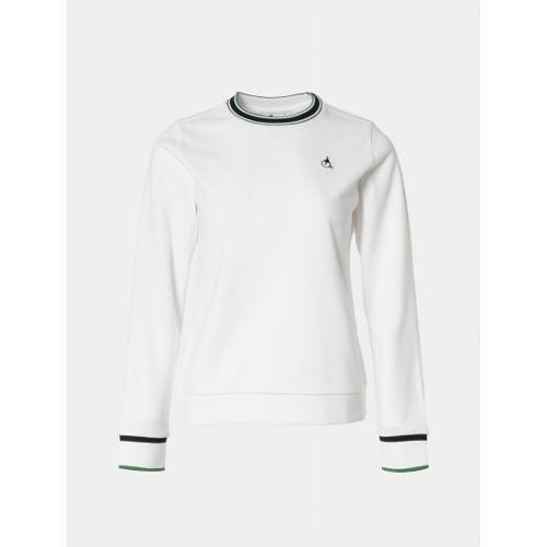 [빈폴골프] 여성 아이보리 백기모 스웨트 셔츠 (BJ0941A180)